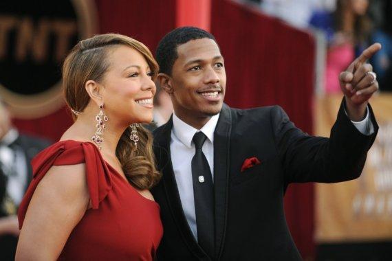 """Reuters""/""Scanpix"" nuotr./Mariah Carey ir Nickas Cannonas"