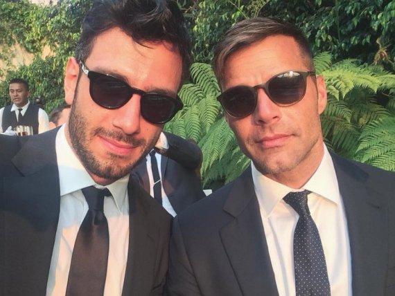 """""""Instagram"""" nuotr./Jwanas Yosefas ir Ricky Martinas"""