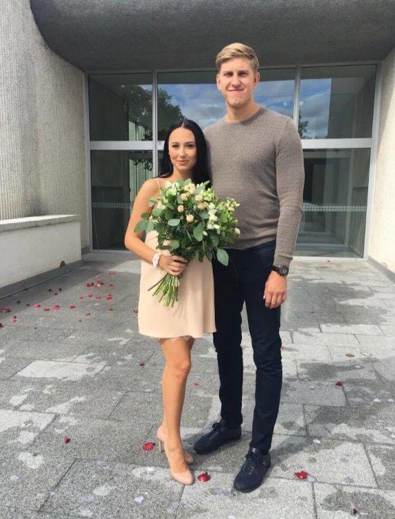 Asmeninė nuotr./Gabrielės ir Ronaldo Rutkauskų vestuvės