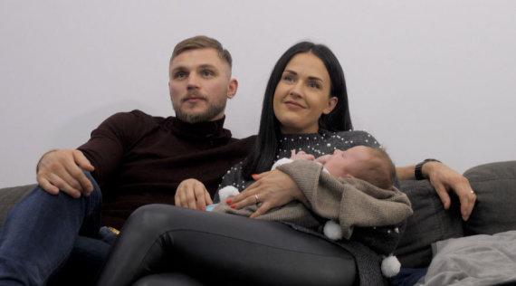 TV3 nuotr./Sergejus Maslobojevas su žmona Airine