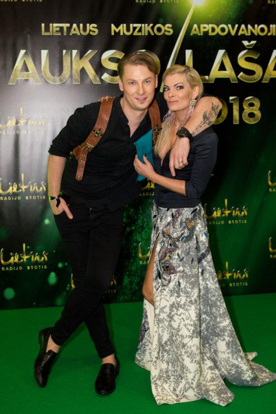 """Mariaus Vizbaro / 15min nuotr./Apdovanojimų """"Aukso lašas 2018"""" svečiai"""