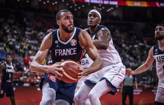 FIBA nuotr./Rudy Gobert'as