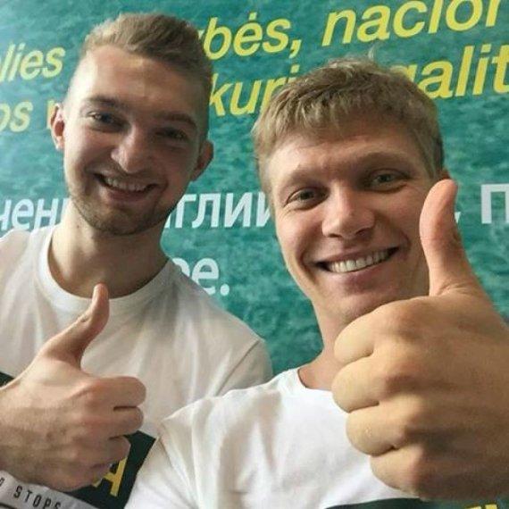 Facebook.com/Domantas Sabonis ir Mindaugas Kuzminskas