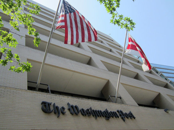 "Danielio X. O'Neilo/Wikimedia.org nuotr./""The Washington Post"" redakcijos pastatas"