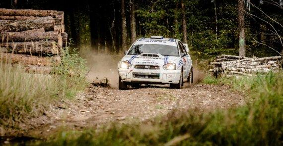 """""""Rally Classic"""" varžybų organizatorių nuotr./""""Rally Classic"""" varžybos"""