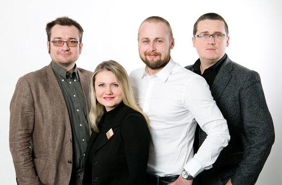 Gretos Skaraitienės nuotr./15min Tyrimų skyrius: Šarūnas Černiauskas, Dovilė Jablonskaitė, Dovydas Pancerovas, Skirmantas Malinauskas