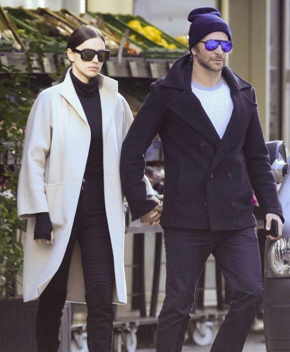 Vida Press nuotr./Irina Shayk ir Bradley Cooperis