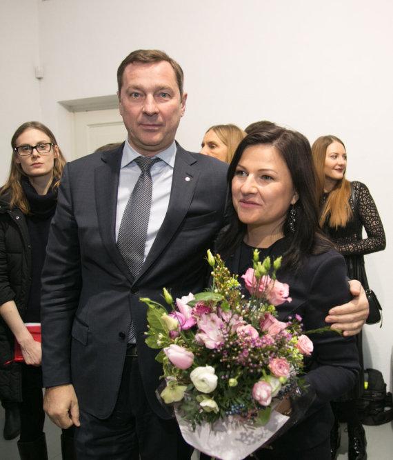 Juliaus Kalinsko / 15min nuotr./Artūras Zuokas su žmona Agne