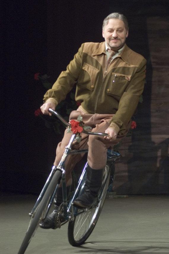 """M.Raskovskij nuotr./Spektaklis """"Žaldokynė"""", 2008"""