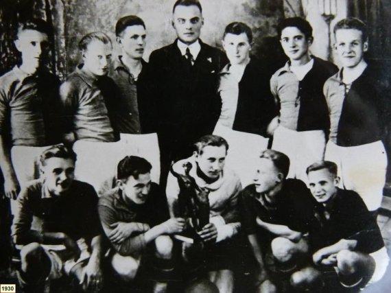 """fksveikata.lt nuotr./Kybartų """"Sveikata"""" 1930-aisiais"""
