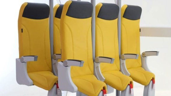 """""""Aviointeriors"""" nuotr./Vertikalios kėdės"""