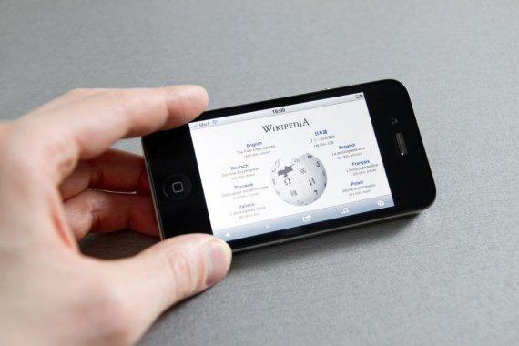 "123rf nuotr./""Wikipedia"" mobiliajame telefone"