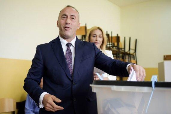 """AFP/""""Scanpix"""" nuotr./Ramushas Haradinajas"""