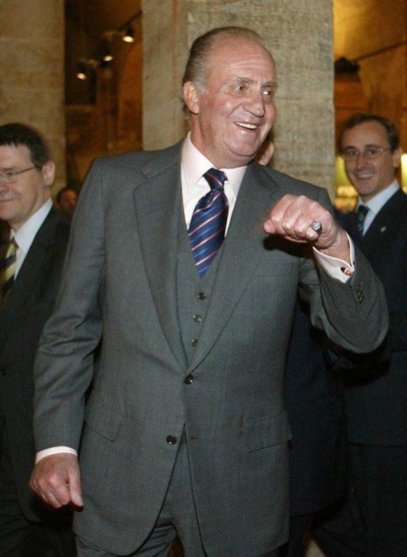 """AFP/""""Scanpix"""" nuotr./Ispanijos karalius Juanas Carlosas"""