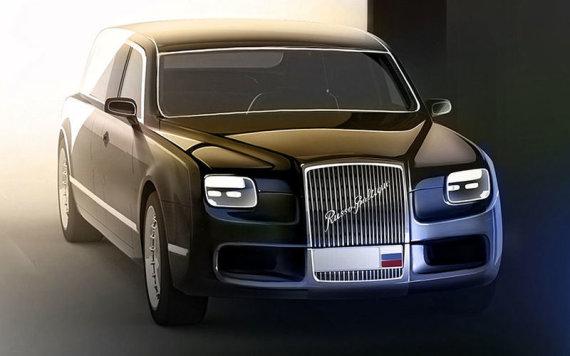 Naujo V.Putino limuzino prototipas