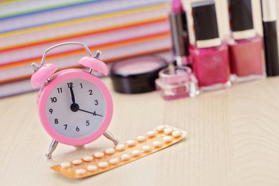 Shutterstock nuotr./Kontraceptinės tabletės.