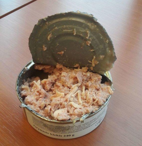 ESFA nuotr. /ESFA skurstantiems nupirkti konservai