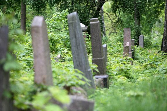 Eriko Ovčarenko/15min.lt nuotr./Žydų kapinės