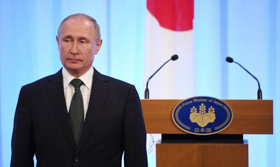 """Scanpix""/""RIA Novosti"" nuotr./Vladimiras Putinas"