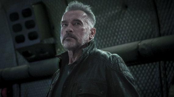 """Filmo kūrėjų nuotr./Kadras iš filmo """"Terminatorius. Tamsus likimas"""""""