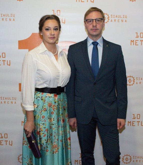 Fotodesantas.lt nuotr./Eglė Stanišauskaitė ir Aurimas Žvinys
