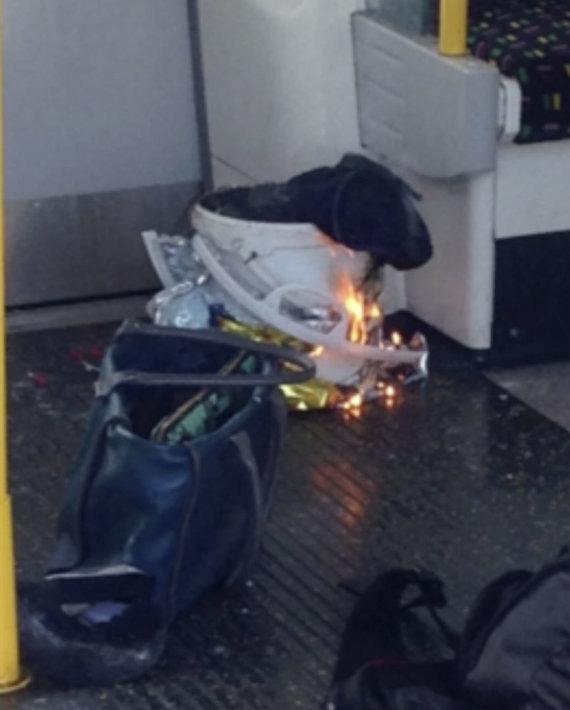 """Scanpix""/AP nuotr./Sprogimas Londono metro"