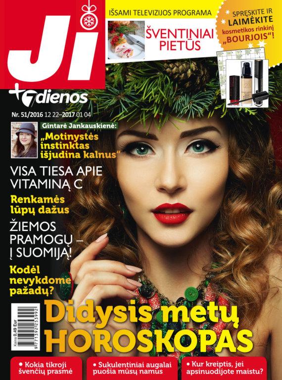 """Redakcijos archyvo nuotr./Žurnalas """"Ji"""" (51 nr.)"""
