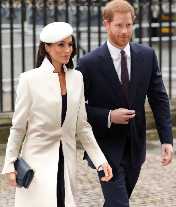 """AFP/""""Scanpix"""" nuotr./Meghan Markle ir princas Harry"""