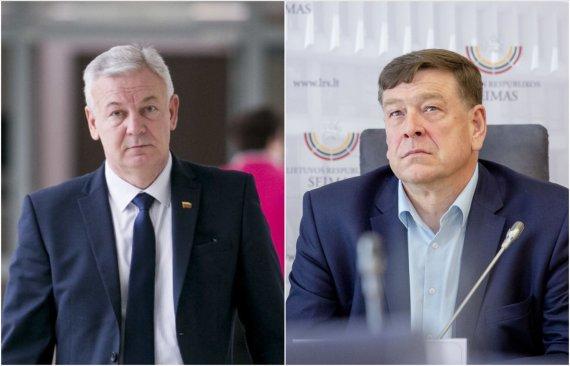 I.Gėlūno, L.Balandžio nuotr./Ričardas Juška, Valentinas Bukauskas