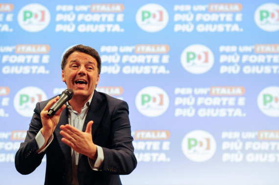 """""""Scanpix"""" nuotr./Matteo Renzi"""