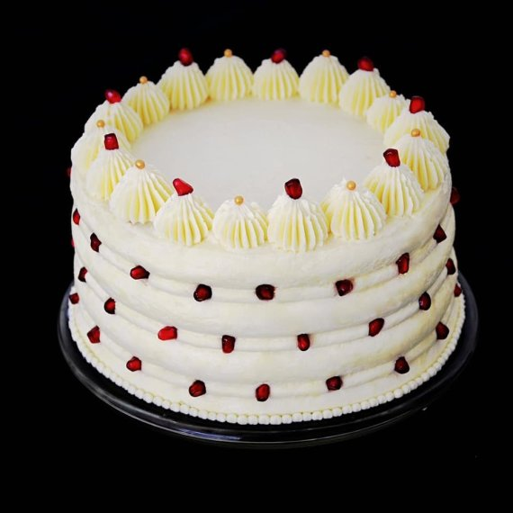 """Autorės nuotr. /""""Napoleono"""" tortas su Chibousto kremo pertepimu"""