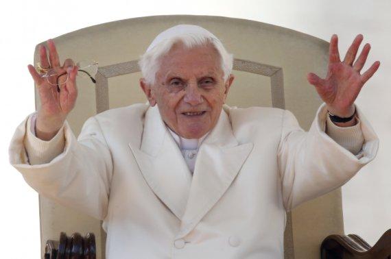 """""""Reuters""""/""""Scanpix"""" nuotr./Benediktas XVI"""
