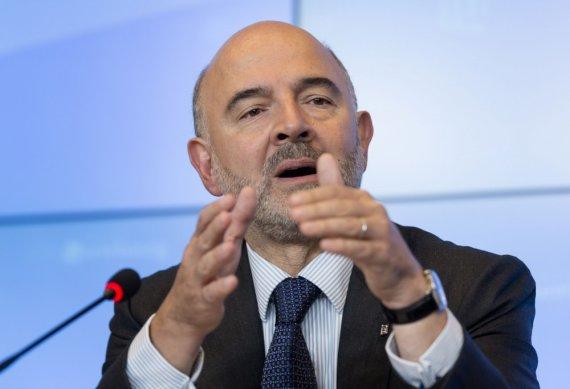 "AFP/""Scanpix"" nuotr./Pierre'as Moscovici"