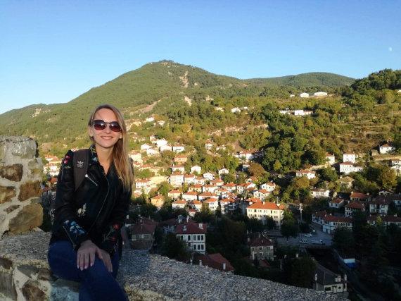 Asmeninio albumo nuotr./Akimirka iš kasmetinių kelionių po Turkiją. Goiniuko miesto panorama