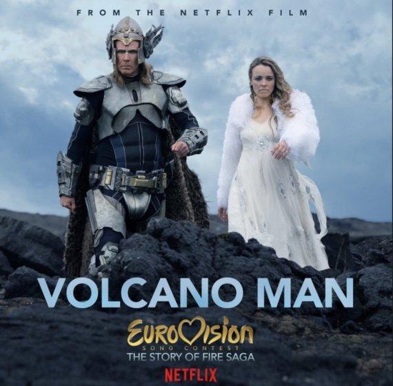 """Twitter"" nuotr./Dainos ""Volcano Man"" iliustracija"
