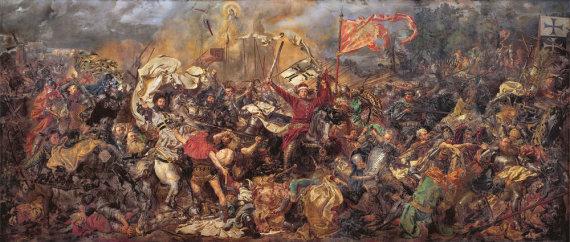 Wikipedia.org nuotr./Žalgirio mūšis