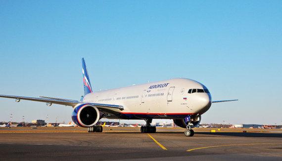 """Aeroflot"" archyvo-nuotr/""Aeroflot"" orlaivis"