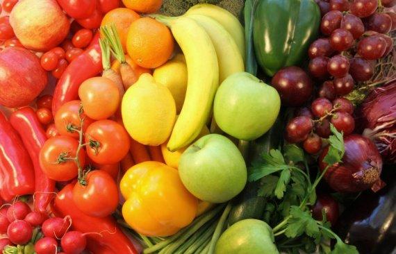 Fotolia nuotr./Vaisiai ir daržovės