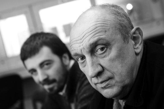 D.Matvejevo nuotr./Mindaugas Nastaravičius ir Valentinas Masalskis