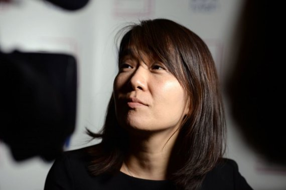"""Scanpix""/""PA Wire""/""Press Association Images"" nuotr./Han Kang"