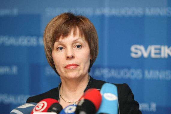 Juliaus Kalinsko / 15min nuotr./Sveikatos apsaugos viceministrė Nora Ribokienė