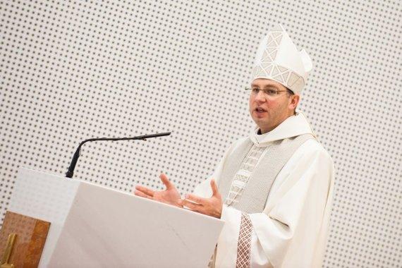 Juozo Kamensko (Kauno arkivyskupijos) nuotr./Vyskupas Kęstutis Kėvalas