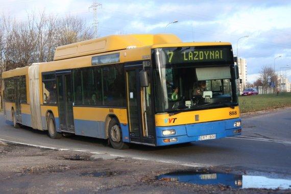 Juliaus Kalinsko / 15min nuotr./7 maršruto autobusas Vilniuje