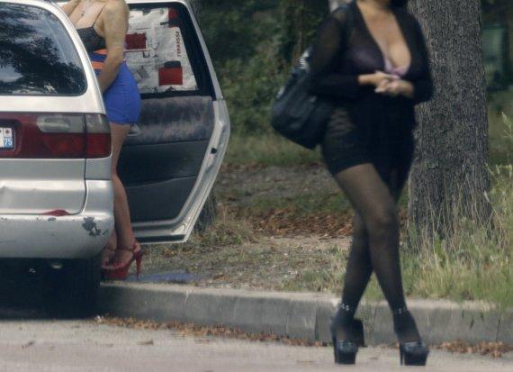 """""""Scanpix"""" nuotr./Prostitutės Paryžiaus Bulonės miške"""