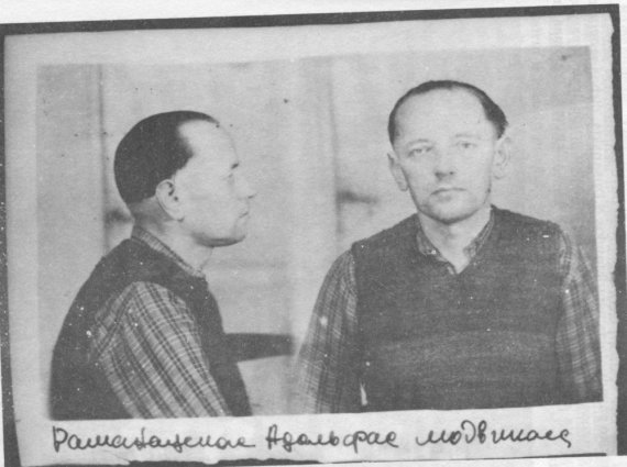 Nuotr. iš partizanai.org/Adolfas Ramanauskas – Vanagas. Nuotrauka iš bylos