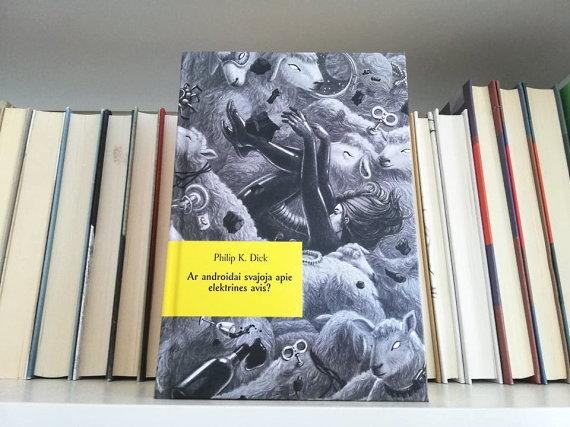 """15min nuotr./Philipo K.Dicko knyga """"Ar androidai svajoja apie elektrines avis?"""""""