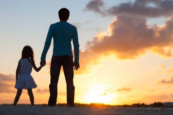 123RF nuotr./Tėvas ir dukra