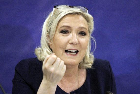 """""""Scanpix""""/AP nuotr./Marine Le Pen"""