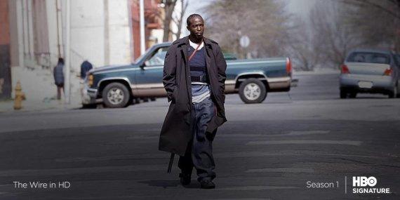 "HBO nuotr./Serialo ""Blakė"" personažas Omaras Litlas"