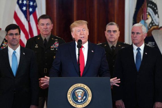 "AFP/""Scanpix"" nuotr./Donaldas Trumpas"